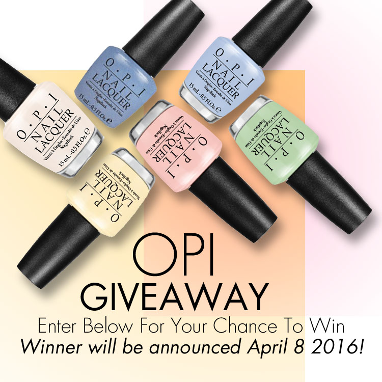 OPI Giveaway